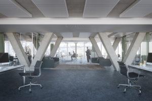 Bubenbergzentrum Innenraum Visualisierung NightnurseImages