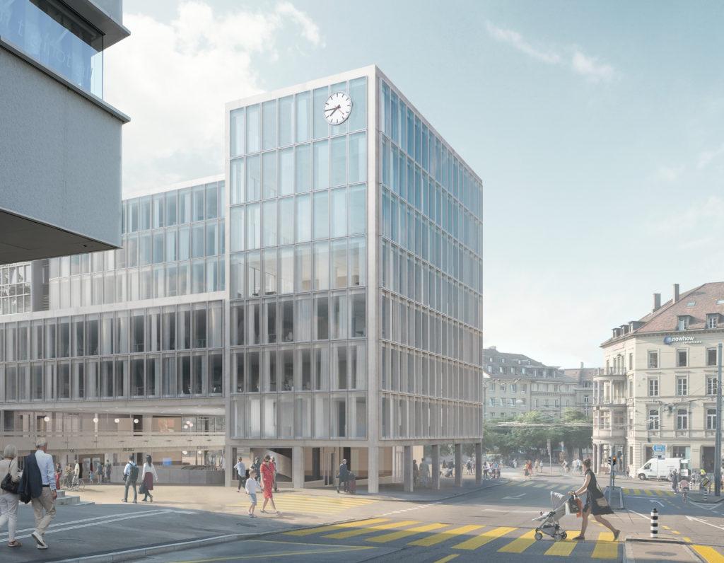 Bubenbergzentrum Nordansicht Visualisierung_OVI_Images